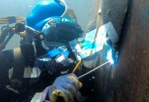 کاربرد جوشکاری زیر آب